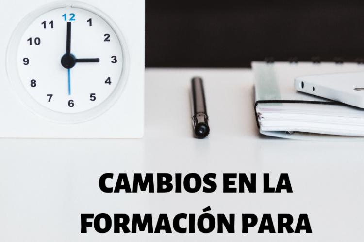 LOS 5 PRINCIPALES CAMBIOS EN LA FORMACIÓN PARA EMPRESAS EN 2016 (FORMACIÓN PROGRAMADA)