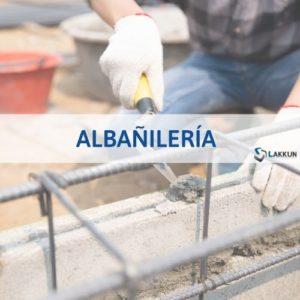curso de albañilería