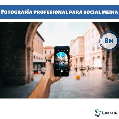 curso fotografía redes sociales