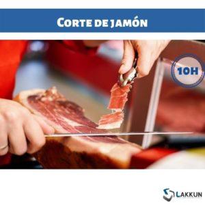curso corte de jamón