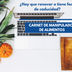 Carnet de manipulador de alimentos homologado