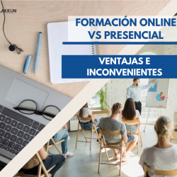 formación online vs formación presencial