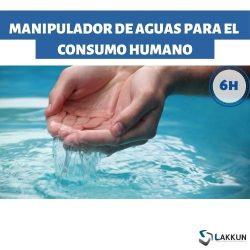 manipulador de aguas de consumo humano