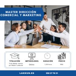 direccion comercial y marketing